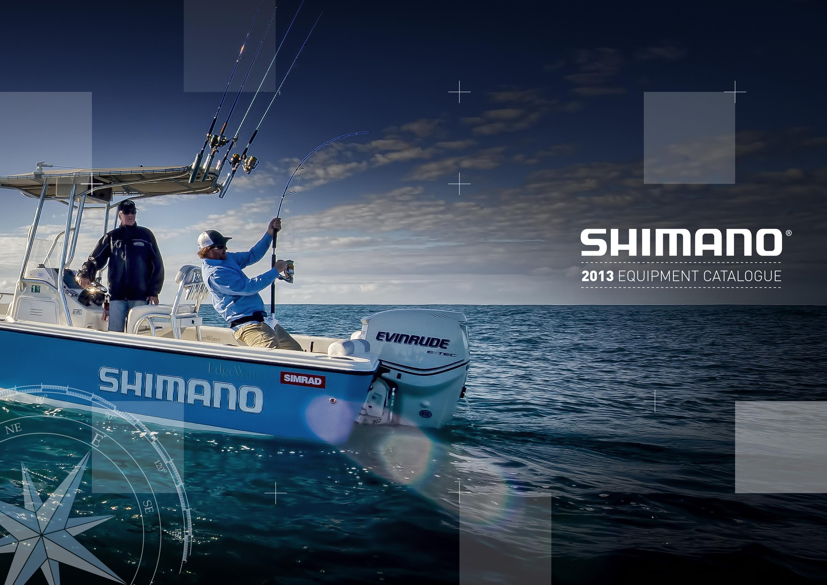 shimano : catalogue 2013 | quadrant communications design, Fishing Reels